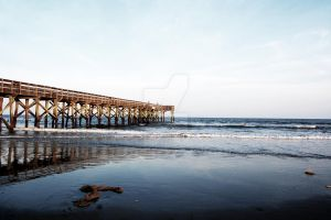 Isle of Palms Pier by MelxMourning