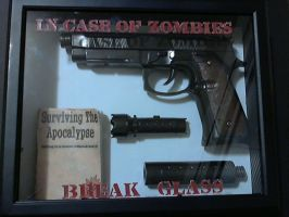 In Case of Zombies by Peter-Robert