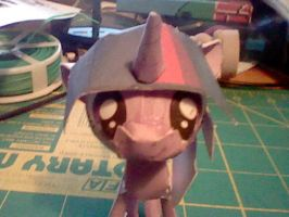 Twilight Sparkle Papercraft by munkyface710