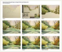 Step by step - Le long du Dard by vanessa-lim