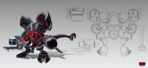 Cho'Gath_Battlecast_Prime by The-Bravo-Ray
