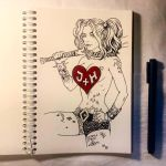 Instaart - Harley Quinn (NSFW optional) by Candra