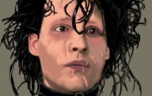 Edward Scissorhands...again by IlluminatiOfTwilight