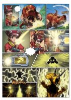 Dinosaur King page 29 by UltimateRubberFool
