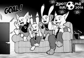 Zootopia : Football connect us together ! by doraemonbasil