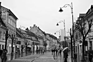 Rainy Days in Sibiu by Simina31
