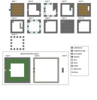Minecraft Floorplans Medium House by ColtCoyote