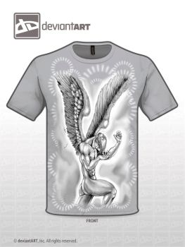 Angel T-shirt by brcmack