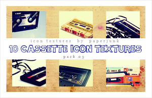 IT Pack 03: Cassettes by PaperJunk