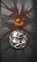 Tinfoil and  Fibers by LucifericChrist