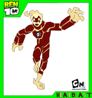 Heatblast - Ben 10 by Bentenny10