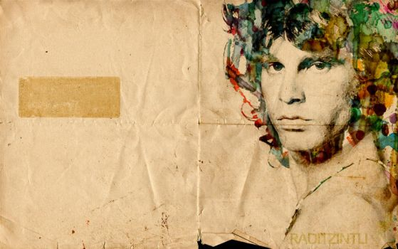 Jim Morrison Wall by raditzintli