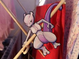 Mewtwo's Laundry Service by tavington