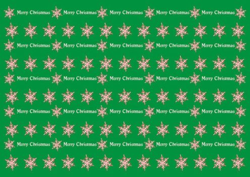 Wrapping Christmas paper green by spidergypsy