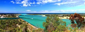 Lakes Entrance Pano by Okavanga