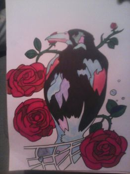 crow by leannepixie