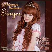 Princess Collection - Ginger by GothicLolitaWigs
