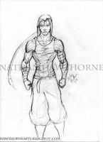 Male character concept by hawthornearts