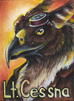 Lt. Cessna Badge by MorRokko