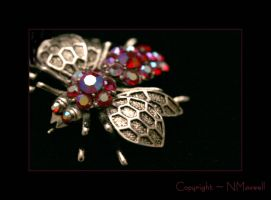 Jeweled Bee by reviresco