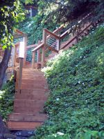 Stock: Ivy Stairwell by Stock-By-Michelle