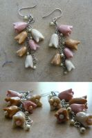 Tulip Earrings by Barfuss-im-Schnee