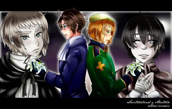 [APH] The forest of the lost memories. by MilleniaTerranova