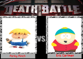 DEATH BATTLE: Porky Minch VS Eric Cartman by DrEarthwormRobotnik