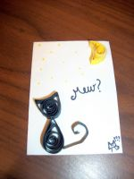 quill cat atc by RaheHeul