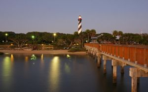 St. Augustine lighthouse by alphamegapixel