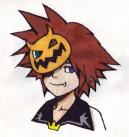 Halloween Town Sora by ZoraSteam