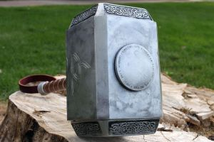 Avengers Thor Hammer 2012 b by NMTcreations