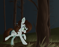 Alone In The Forest by Potates-Chan