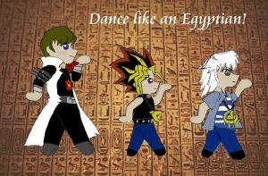 Dance Like an Egyptian by serena-inverse