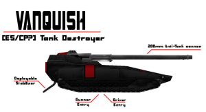 PS Concepts: Vanquish AntiTank by hansime