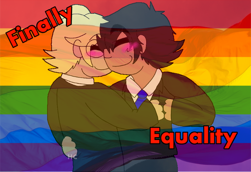 Marriage equality!!! by KamiKnight