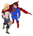 Marvel Vs. DC: Thor/Superman by DHK88