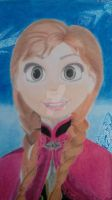 Princess Anna of Arendelle by JessRoVe