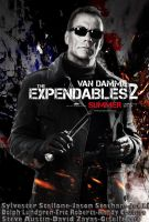 The Expendables 2 Poster by Mahmoud-Gfx