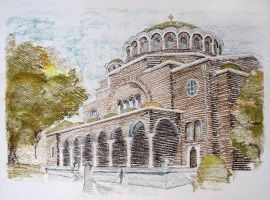 Sveta Nedelya church, Sofia, Bulgaria by mirroslaff
