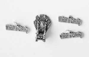 4 Game of Thrones Charms FOR SALE by MonsterBrandCrafts