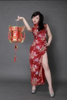 Chinese/Cheongsam girl by kizysem