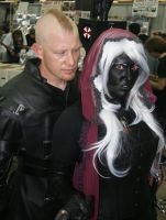 Nemesis unmasked and Drow by Daniphae