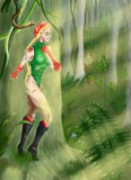 In the Jungle by Nalika666