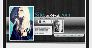 Fansite Premades - Lady Gaga by msLana