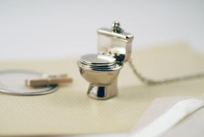 Toilet Locket Necklace by foowahu-etsy