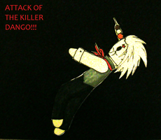 Attack of the killer dango by siren10101