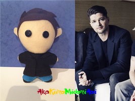 The Script Plushes: Danny O'Donoghue by AkaKiiroMidoriAoi