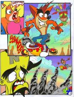 crash bandicoot comic 2-3 by rods3000