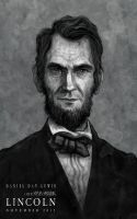 Daniel Day-Lewis as LINCOLN by McQuade